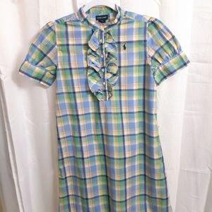 Ralph Lauren Short Sleeve Girls Dress
